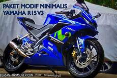 Yamaha R15 V3 Modifikasi by Paket Modifikasi R15 V3 Simpel Rpmsuper