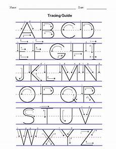 handwriting practice worksheets middle school 21487 manuscript alphabet tracing guide for since she s been asking to learn to write