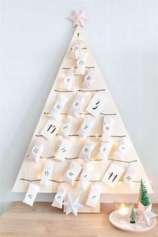 Weihnachtsbaum Adventskalender Basteln Ars Textura Diy