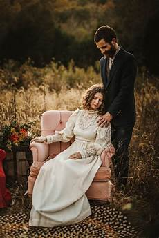 this 70s wedding inspiration truly looks like it came from another era junebug weddings