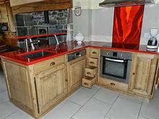 cuisine intégrée bois cuisine cuisine avec angle pas cher sur cuisinelareduc