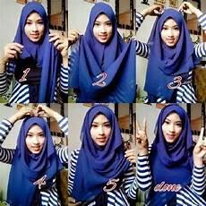 Cara Memakai Jilbab Pashmina Syar I