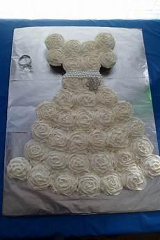 diy bridal shower cake wedding cupcakes velvet