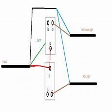 wiring a 2 gang light switch wiring diagram