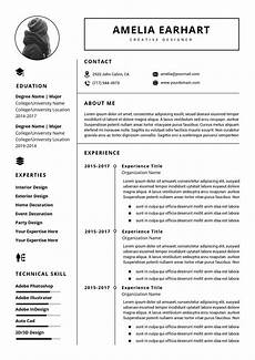 professional resume cv template instant download ms