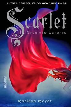 scarlet marissa meyer livros e chocolate
