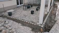 Do Mi S Garten Projekt Terrassenplatten Beendet