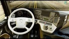mercedes actros mp4 6x4 standart interior for gta san
