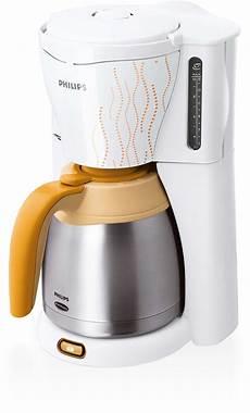 kaffeemaschine weiß mit thermoskanne viva collection kaffeemaschine hd7544 55 philips
