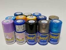 plastic spray paint mr color tamiya with bonus ebay