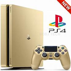 console ps4 playstation 4 slim 1tb console ps4 gold limited