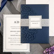 Wedding Invitations Blue