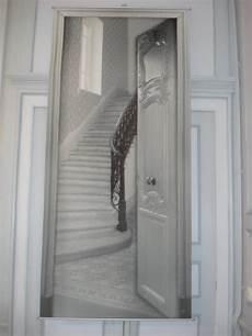 toile d 233 corative trompe l oeil l escalier d 233 co mathilde m