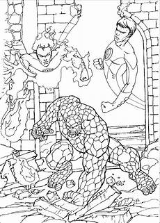 free coloring pages 17574 fantastic 4 coloring pages and print for free
