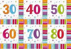 servietten 80 geburtstag servietten geburtstag deko zahlen 18 30 40 50 60 65 70 80