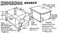 hedgehog house plans hedgehog houses sheffield forum