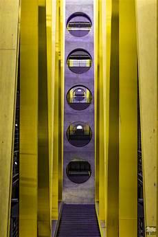 Parkhaus Am Flughafen Leipzig Foto Bild Architektur