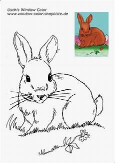 Window Color Malvorlagen Hasen Ostern Vorlagen 3