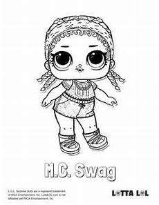 Mc Malvorlagen Novel Mc Swag Coloring Page Lotta Lol Coloring Pages
