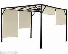 sonnenschutz garten terrasse 3x3 4x3 4x4 m pavillon garten terrasse sonnenschutz