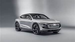 2017 Audi E Tron Sportback Concept Car 4K Wallpapers  HD