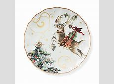 Twas the Night Before Christmas Dinner Plates, Reindeer