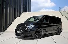 Vansport De Reveals Mercedes V 250 Black Pearl