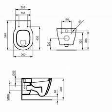 abstand wc wand ideal standard connect wand flachsp 252 l wc 6 l wei 223 ohne sitz