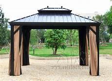 3 3 6 Meter Deluxe High Quality Metal Canopy Sunjoy