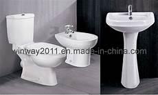 China Toilet Bidet Basin Set 2000 China Toilet Wc