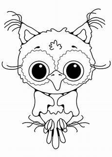Malvorlagen Tiere Eulen Ausmalbild Baby Eule Kostenlos Ausdrucken