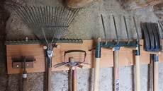 comment fabriquer un rangement pour les outils de jardin