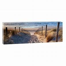 bilder auf keilrahmen kaufen weg zum strand bild strand meer keilrahmen leinwand