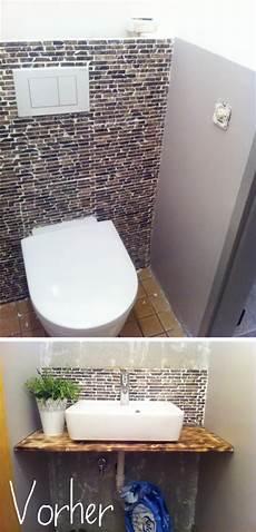 fliesen auf rigips s bastelkistle roomtour wc vorher nachher