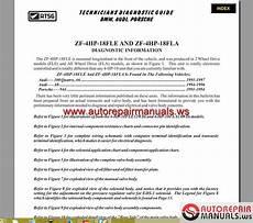 atsg transmission 4hp18 22 24 technical service auto repair manual heavy equipment