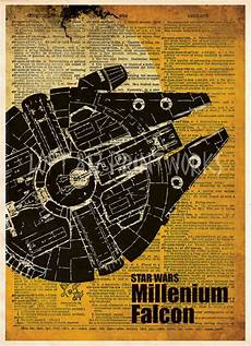Malvorlagen Wings Saga Wars Print Millennium Falcon Vintage Wars