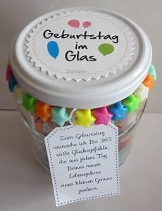 geburtstag im glas inhalt luftschlangen luftballon