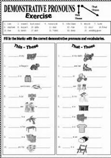 demonstrative pronouns esl worksheet by shusu euphe