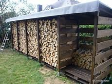 Einen Stabilen Brennholzunterstand Brennholzschuppen Gut
