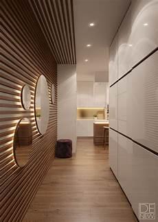 revetement mural couloir modern on behance couloir en 2019 d 233 co maison