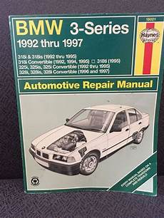 best auto repair manual 1992 bmw 3 series on board diagnostic system bmw 3 series repair manual haynes 18021 1992 1997 bmw 318i ships free haynespublications diy