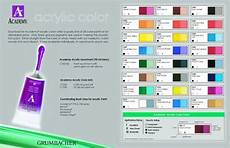 grumbacher academy acrylic paint chart acrylic paints pinterest paint charts and acrylics