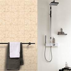 Rasch Bathroom Wallpaper by Rasch Marble Tile Pattern Wallpaper Realistic Kitchen
