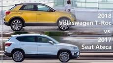 vw t cross vs seat arona comparison small suvs pagebd