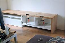 Kallax Tv Bank Besta Tv Stand With Seating Option
