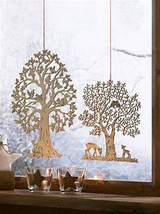 décoratif fenêtre deco fenetre hiver