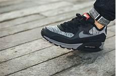nike air max 90 essential black grey sneaker bar detroit