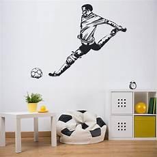 home decor wall decals football goal wall sticker footballer sports wall decal