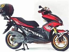 Aerox 155 Modif Touring by Gambar Foto Modifikasi Yamaha Aerox 155 Touring