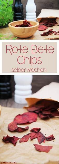 Rote Bete Chips - rote bete chips selber machen c b with andrea